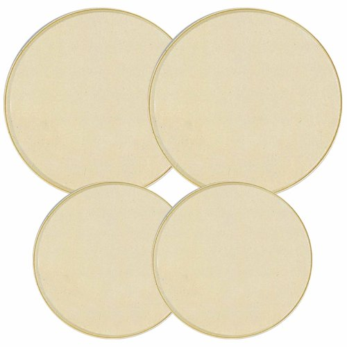 Reston Lloyd Electric Stove Burner Covers, Set of 4, Almond