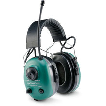 QuieTunes Rechargeable AM/FM Stereo, Input Jack, 16.1 oz/457g, Green, CE, SNR 27, NRR 22