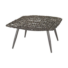 Dimond Home Woven Wicker Stool, 28
