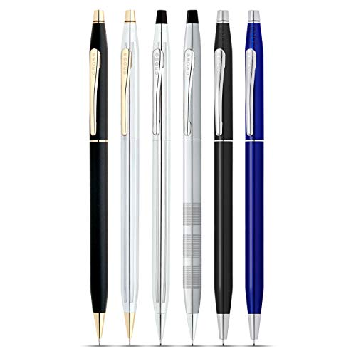 Cross Classic Century Medalist Chrome 0.7mm Pencil with 23KT Gold-Plated Appointments