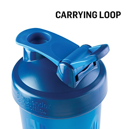 BlenderBottle Classic Loop Top Shaker Bottle, 28-Ounce 2-Pack, Colors May Vary