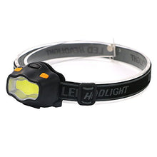 Feicuan Mini White Red Light Headlamp COB LED Headlight Head Torch Lamp Bright Hunting Cycling Climbing Camping fishing