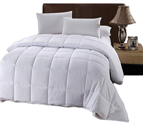 Royal Hotel Twin/Twin XL Size Down-Alternative Comforter - Duvet Insert, 100% Down Alternative Fill