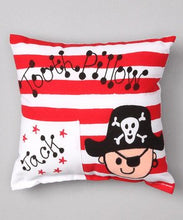 Bunnies and Bows - Pirate - Personalized Pillowcase