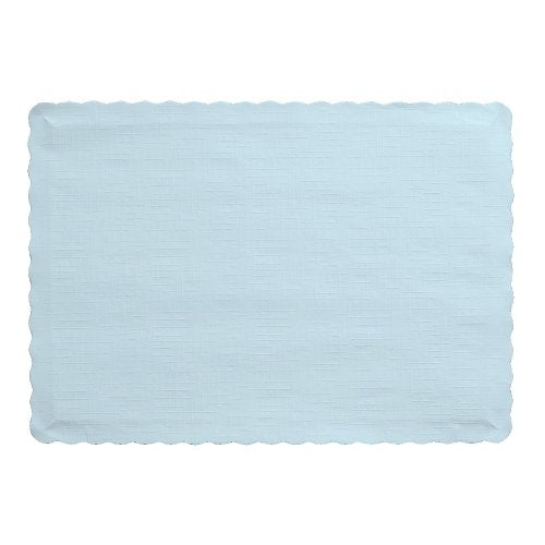 Creative Converting Placemats, One Size, Pastel Blue