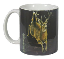 Deer Trax 11 Oz. Ceramic Coffee Mug or Tea Cup