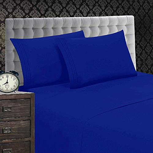 Elegant Comfort Softest, Coziest, 1500 Thread Count Egyptian Quality Wrinkle And Fade Resistant 2 Pi