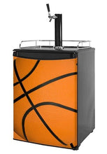 Kegerator Skin - Basketball (fits medium sized dorm fridge and kegerators)