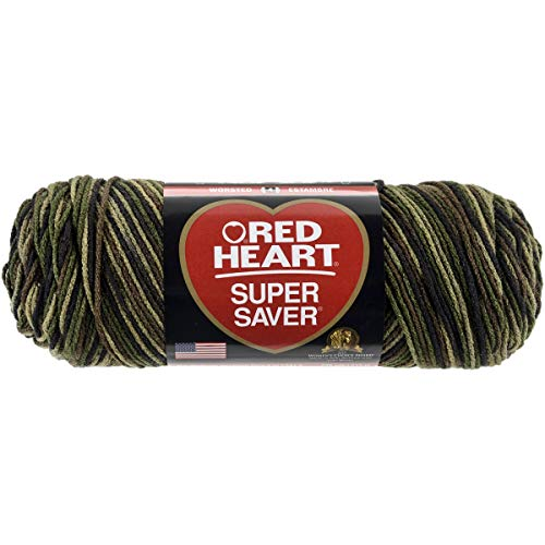 Red Heartâ Super Saver Yarn, Camouflage Print
