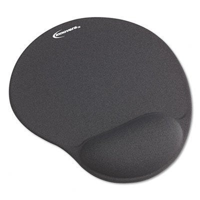 Innovera Mouse Pad with Gel Wrist Pad - Gray 2 Pack