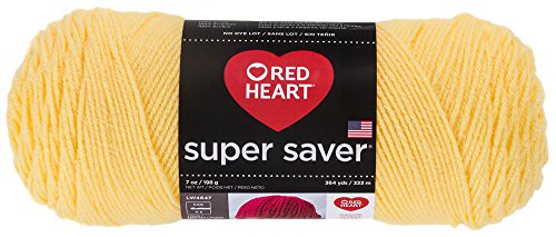 Red Heart  E300.0235 Super Saver Economy Yarn, Lemon