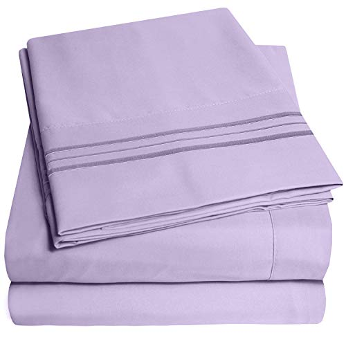 1500 Supreme Collection Bed Sheets Set   Luxury Hotel Style 4 Piece Extra Soft Sheet Set   Deep Pock