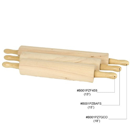 Thunder Group Wooden Rolling Pin