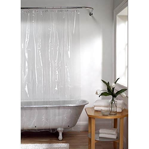 Utopia Bedding 72x72 Inch 10 G Eva Shower Curtain Liner, Eco Friendly   Anti Bacterial, Non   Toxic O