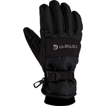 Carhartt Men's W.p. Waterproof Insulated Work Glove, Black, Large
