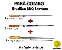 para Combo - Set of 6 Brazilian Skewers for BBQ 28