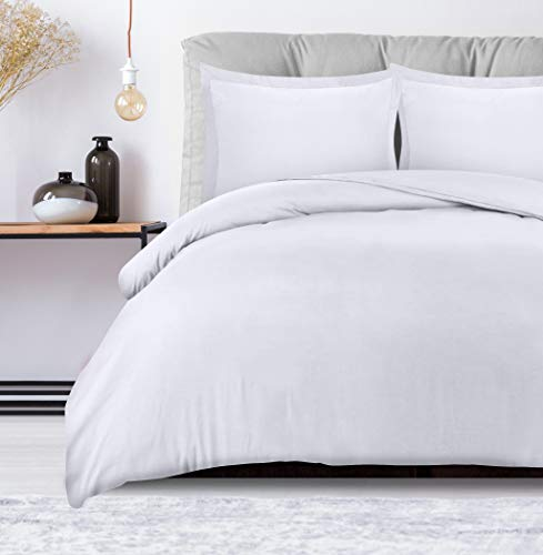 Utopia Bedding 3 Piece Duvet Cover Set With 2 Pillow Shams  Soft Brushed Microfiber Fabric  Wrinkle,