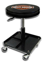 Plasticolor Harley-Davidson Bar & Shield Shop Stool Swivel & Adjusted Seat Height P4766