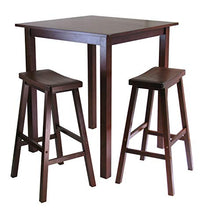 Winsome Parking 3-pc Pub Set Dining Table, Walnut
