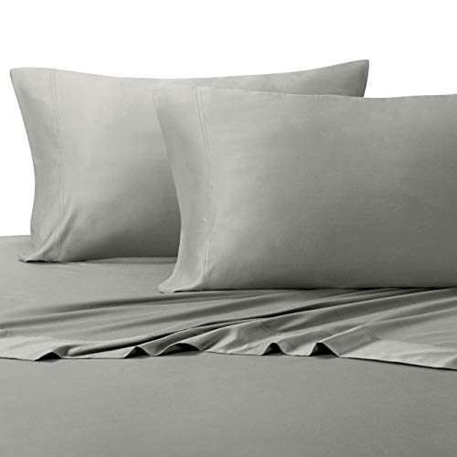 Royal Hotel King Size Gray Silky Soft Bed Pillowcases 100% Bamboo Viscose 2 Pc Pillow Cases