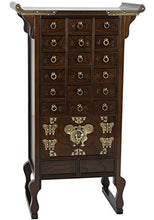 Oriental Furniture Korean Style 18 Drawer Herbal Medicine Chest
