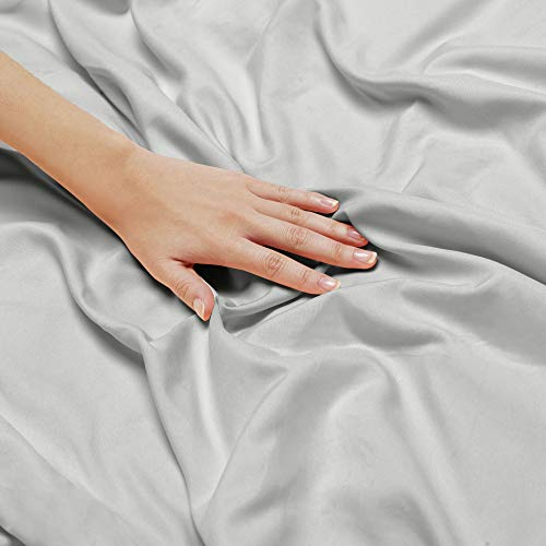 Nestl Bedding Soft Sheets Set   5 Piece Bed Sheet Set, 3 Line Design Pillowcases   Easy Care, Wrinkl