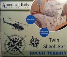 American Kids Rough Terrain Sheet Set