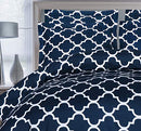 Image of Utopia Bedding 3 Piece Printed Duvet Cover Set  Soft Brushed Microfiber Fabric  Wrinkle, Shrinkage A
