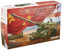MENG 155 mm 1:35 Scale Chinese PLZ05 Self-Propelled Howitzer Model Kit (Multi-Colour)