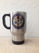 14oz Military Freemason Stainless Steel Travel Mug
