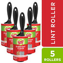 Image of Scotch-Brite Lint Roller Value Pack, 5 Rollers, Picks up Lint, Pet Fur, Fuzz, and Hair