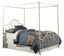 Hillsdale Furniture Dover Canopy Bed, Queen, Cream
