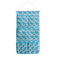 [Blue Flowers] Blue/Wall Hanging/ Wall Organizers / Baskets / Hanging Baskets (13*24)