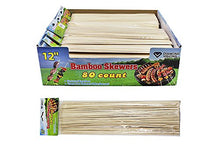 Diamond Visions 01-1780 Bamboo Skewers Multipack Set (3 Packs- 240 Skewers)