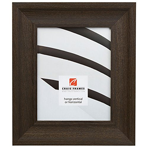 Craig Frames 2.5DRIFTWOODBK 24 by 36-Inch Picture Frame, Wood Grain Finish, 2.5-Inch Wide, Weathered Black