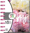 Image of me & my BIG ideas Create 365 The Happy Planner, Peony Florals, Jul 2016 - Dec 2017