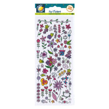 FUN STICKERS FLOWERS by Craft Planet