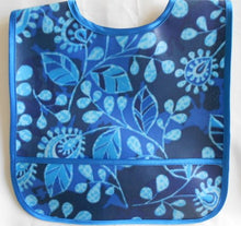 Easy to Wipe Blue Baby Bib