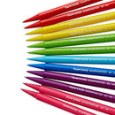 Image of Paper Mate SharpWriter Mechanical Pencils, 0.7mm, HB #2, Assorted Colors, 12 Count