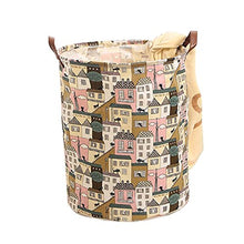FANCY PUMPKIN Home Large Laundry Basket Bin Dirty Clothes Hamper for Clothes Storage and Organization, 16