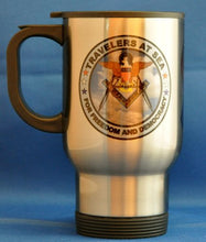 Masonic USN Travelers 14 Oz. Stainless Steel Travel Mug