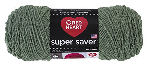 Red Heart Super Saver Yarn, Light Sage