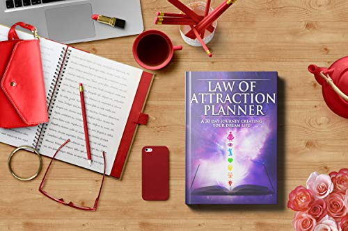Law Of Attraction Daily Planner   Deluxe Day Calendar And Gratitude Journal To Increase Productivity
