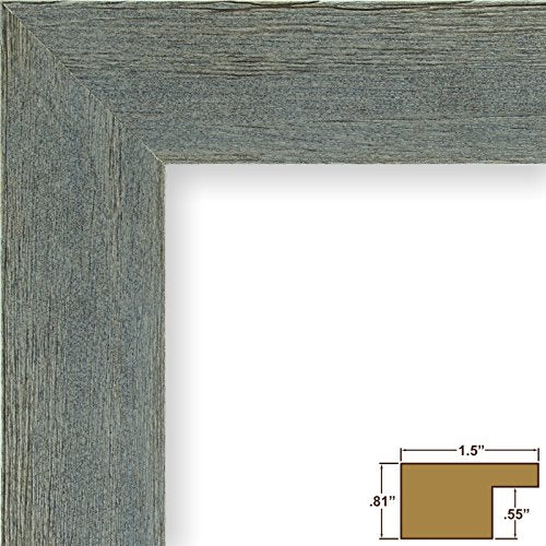 Craig Frames Barnwood Chic, Rustic Hardwood Picture Frame, Gray, 20 by 27-Inch
