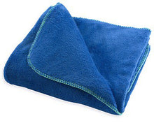 Colormate Kids Blue Fleece Throw