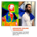 Image of Ergodyne Chill-Its 6602 Evaporative Cooling Towel, Blue