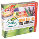 Image of Biobag, Food Waste Bags, 3 Gallon, 25 Count (Pack of 4)