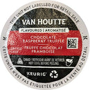Image of Van Houtte Chocolate Raspberry Truffle Coffee, Light Roast, K-Cup Portion Pack for Keurig K-Cup Brewers 24-Count  (Pack of 2)