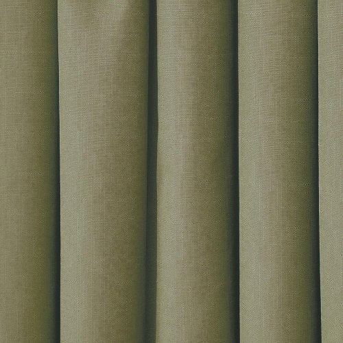 "ECLIPSE Blackout Curtains for Bedroom - Kendall Insulated Darkening Single Panel Rod Pocket Window Treatment Living Room, 42"" x 95"", Artichoke"