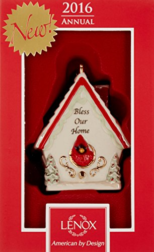 Lenox 2016 Bless Our Home Birdhouse Ornament